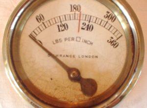 DEWRANCE 4″ Diameter Pressure Gauge