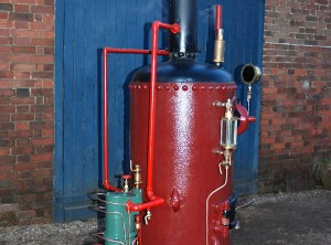 "Portable ""Domestic"" solid fuel fired steam driven electrical generator sets."