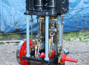 TWIN HIGH PRESSURE Marine Engine