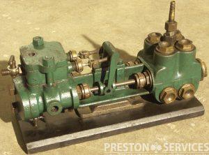 "Unkown Maker Duplex Boiler Feed Pump, 2″ x 1¼"" x 3″"