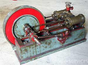 "Twin Cylinder Horizontal, Duplex Cylinders Approx 2″ x 3½"""