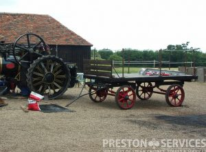 EAGLE Traction Engine Trailer