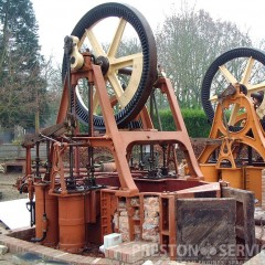 EASTONS AMOS & SONS Steam Pumping Engine, 1866