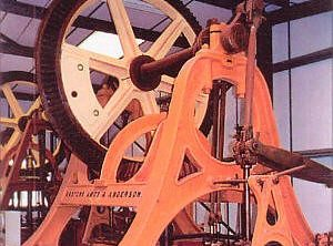 EASTONS AMOS & ANDERSON Steam Pumping Engine, 1870