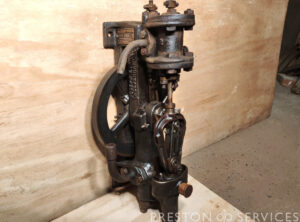 EVANS 2 x 1″ Banjo Type Rotative Steam Pump