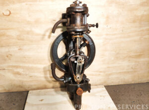 EVANS 2 x 1″ Banjo Type Rotative Steam Pump