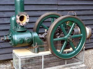 JOSEPH EVANS Rotative Horizontal Single Cylinder Pump, 5″ x 4″ x 6″