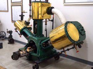 'V' Triple 3 Cylinder Marine Engine