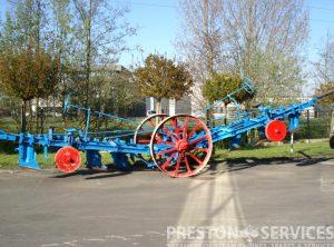 FOWLER Balance Plough