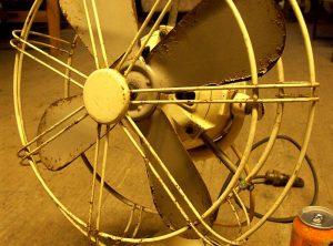 110 Volts D.C. Electric Fan