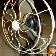 110 Volts D.C. Electric Fan