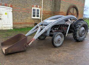 FERGUSON Tractor with High Lift 'Banana' Loader