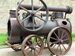 FOSTER 8 NHP Portable Steam Engine
