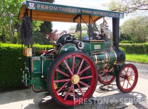 FOSTER 3 Ton Steam Tractor