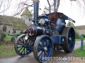 "FOWLER Road Locomotive ""THE LION"""