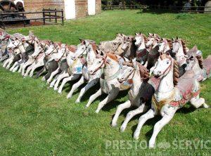 ANDERSON, SAVAGE, etc. Galloper Horses