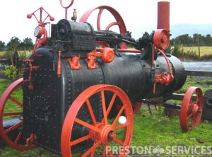 GARRETT 4 NHP Portable Steam Engine
