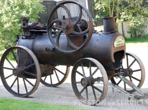 GARRETT 6 NHP Portable Steam Engine
