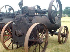 GARRETT 6 NHP Portable Steam Engine