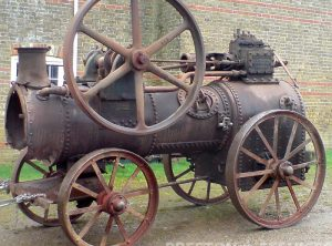 GARRETT 7 NHP Portable Steam Engine