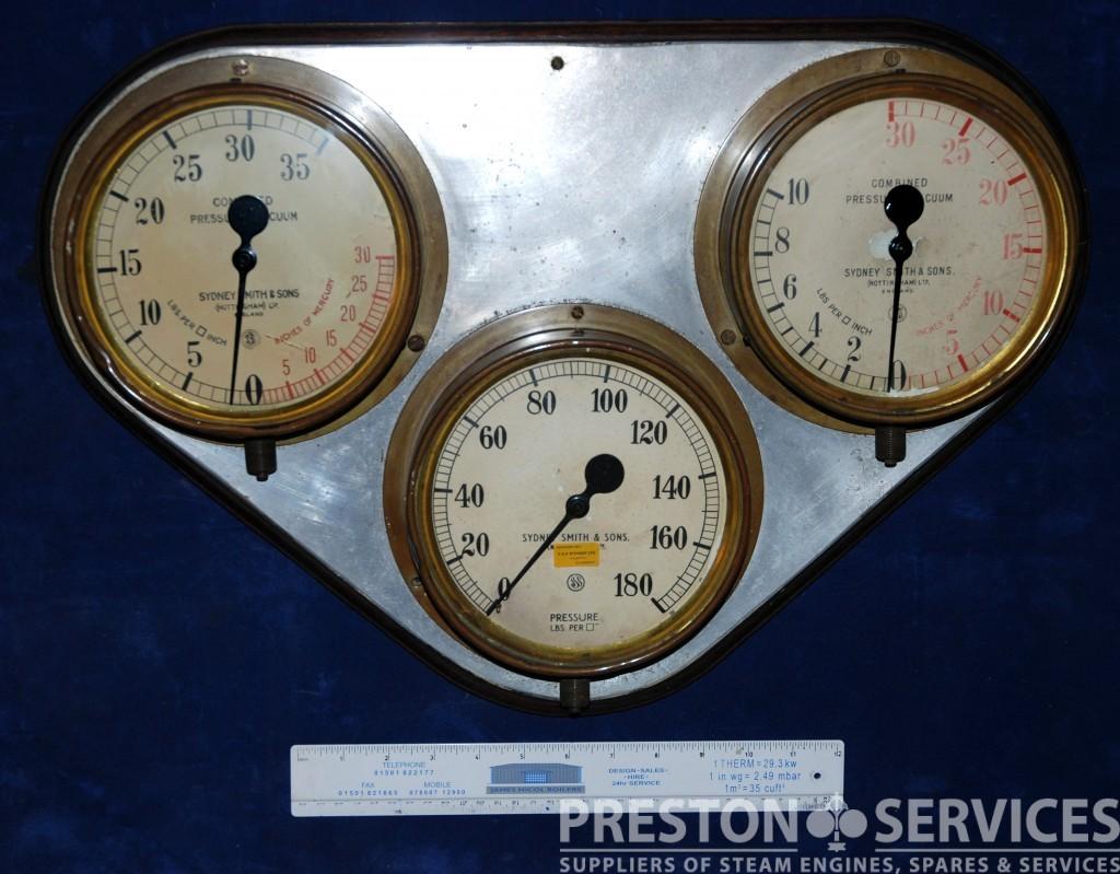 Complete Marine Pressure Gauge Board Preston Services