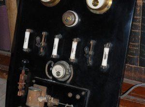 1920's VINTAGE ELECTRICAL GAUGE BOARD