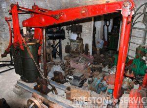 1827 ALMOND Grasshopper Beam Engine