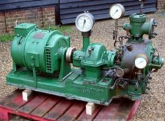GREENWOOD & BATLEY Turbine Driven Generator Set