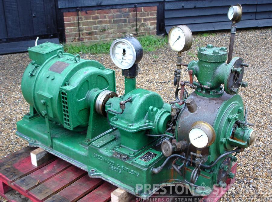 greenwood batley turbine driven generator set preston services. Black Bedroom Furniture Sets. Home Design Ideas