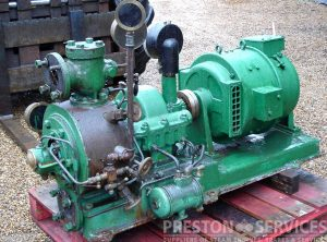 GREENWOOD & BATLEY Turbine Driven Generator Set