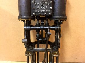 GROUT BROS. Steam Car Engine