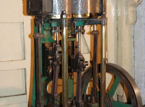 HERSCHELL-SPILLMAN Carousel Steam Engine