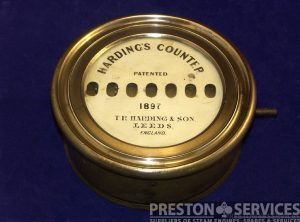 HARDING'S Revolution Counter, 1897