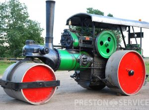 HENSCHEL Steam Roller