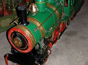 CAGNEY 15 Inch Gauge Steam Locomotive