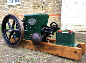 HOBBS 1½ H.P. Petrol Paraffin Engine