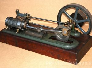 "Single Cylinder Horizontal  Workshop Engine  3″ x 3¾"" Cylinder"