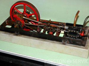 Model Single Cylinder Horizontal Workshop Engine