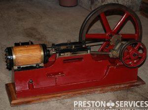"Single Cylinder Horizontal Workshop Engine 2½"" x 5″ Cylinder"