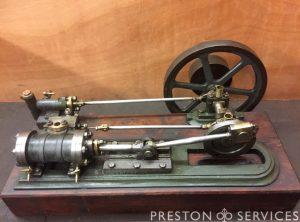 Horizontal Single Cylinder Workshop Engine