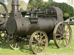 1868 HORNSBY 8 NHP Portable Steam Engine