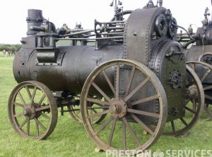 1868 HORNSBY 8 NHP Portable Steam Engine