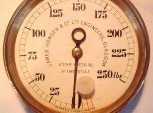 HOWDEN 6″ Diameter Compound Pressure Gauge