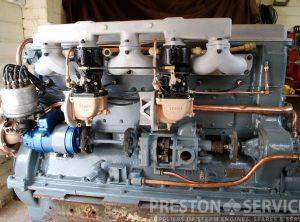 HUDSON 'INVADER'  350 H.P. Marine Petrol Engine