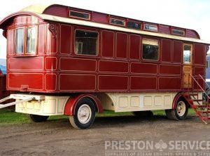 HURST Showmans Living Van