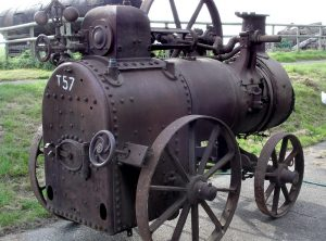 ITALO-SVIZZERA 3 NHP Portable Steam Engine