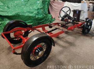 1938 JOWETT Steam Car