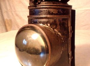BULLS EYE OIL SIDE LAMP, Single