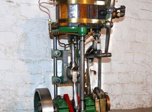 LACK Single Cylinder Launch Engine 4″ x 4″