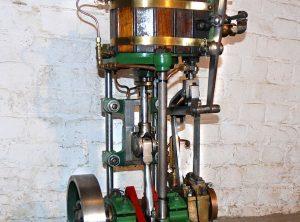 LACK Single Cylinder Launch Engine 4″ x 4″